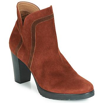 Cipők Női Bokacsizmák Karston VASOR Barna