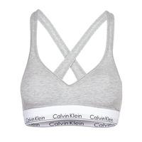 Fehérnemű Női Sport melltartók Calvin Klein Jeans MODERN COTTON BRALETTE LIFT Szürke