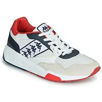 Cipők Férfi Rövid szárú edzőcipők Kappa LUXOR 2 Fehér / Piros