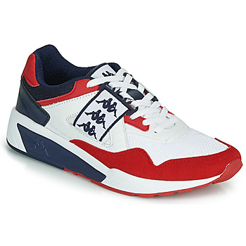 Cipők Férfi Rövid szárú edzőcipők Kappa BARSEL 2 Fehér / Piros