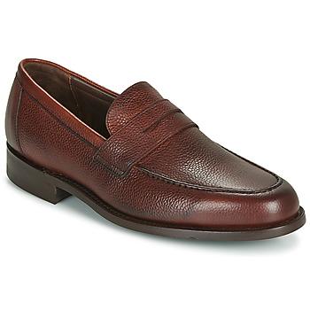 Cipők Férfi Mokkaszínek Barker JEVINGTON Bordó
