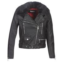 Ruhák Női Bőrkabátok / műbőr kabátok Molly Bracken HA006A21 Fekete