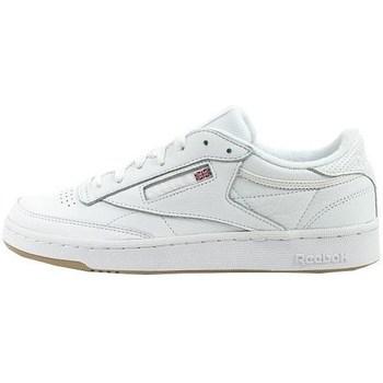 Cipők Férfi Rövid szárú edzőcipők Reebok Sport Club C 85 Fehér