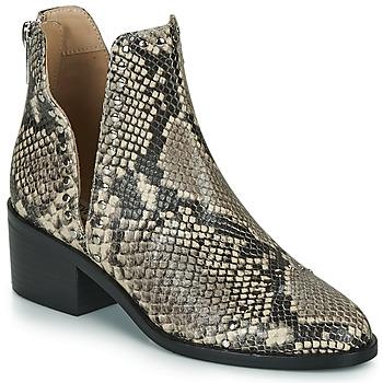 Cipők Női Csizmák Steve Madden CONSPIRE Bézs / Piton