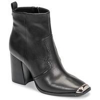 Cipők Női Bokacsizmák Steve Madden ENZO Fekete