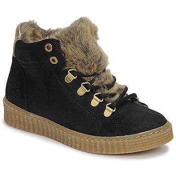 Cipők Lány Magas szárú edzőcipők Bullboxer AIB504E6CA-BLCK Fekete