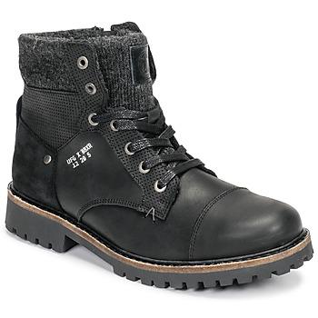 Cipők Fiú Csizmák Bullboxer AHA518E6L-BLCK Fekete