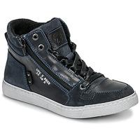 Cipők Fiú Magas szárú edzőcipők Bullboxer AGM531E6L-NGBLK Tengerész