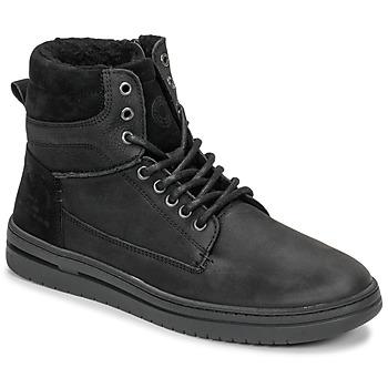 Cipők Fiú Magas szárú edzőcipők Bullboxer AID500E6L-BLCK Fekete