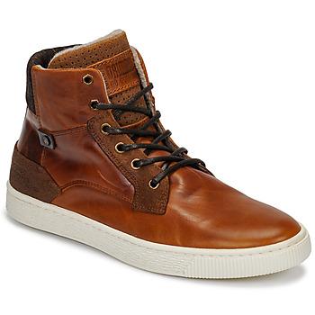 Cipők Férfi Magas szárú edzőcipők Bullboxer 648K55858A2501 Barna