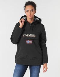 Ruhák Női Parka kabátok Napapijri RAINFOREST WINTER Fekete