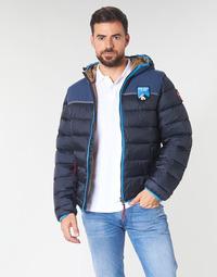 Ruhák Férfi Steppelt kabátok Napapijri ARIC Tengerész