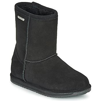 Cipők Lány Csizmák EMU BRUMBY LO WATERPROOF Fekete