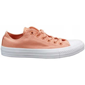 Cipők Gyerek Rövid szárú edzőcipők Converse Chuck Tylor AS OX Rózsaszín