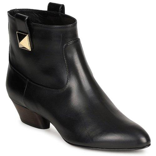 Cipők Női Bokacsizmák Marc Jacobs MJ19102 Fekete