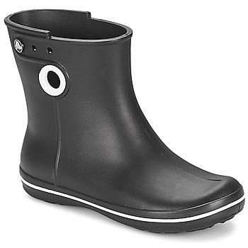 Shoes Női Gumicsizmák Crocs JAUNT SHORTY BOOT W-BLACK Fekete