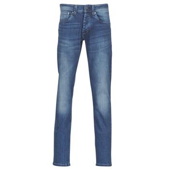 Ruhák Férfi Egyenes szárú farmerek Pepe jeans CASH Gs7 / Kék / Átlagos