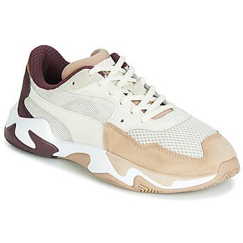 Cipők Női Rövid szárú edzőcipők Puma STORM ORIGIN NOUGAT Bézs