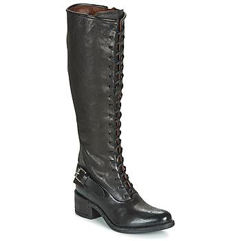 Cipők Női Városi csizmák Airstep / A.S.98 OPEA LACE Fekete