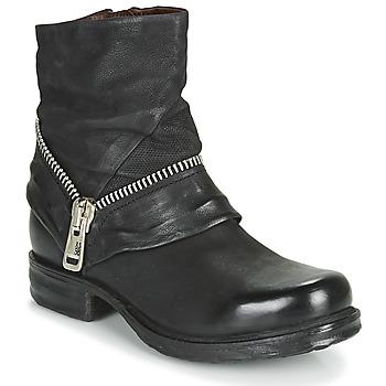 Cipők Női Csizmák Airstep / A.S.98 SAINT EC ZIP NEW Fekete