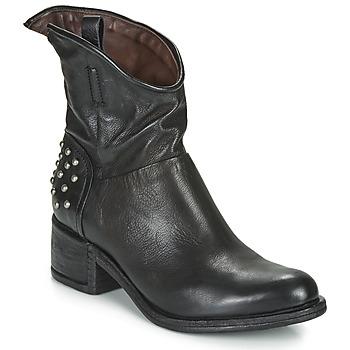 Cipők Női Csizmák Airstep / A.S.98 OPEA STUDS Fekete
