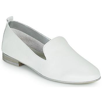 Cipők Női Mokkaszínek André ROMANS Fehér