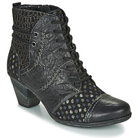 Cipők Női Bokacsizmák Remonte Dorndorf D8786-06 Fekete