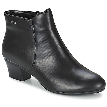 Cipők Női Bokacsizmák Clarks MELANIE SU GTX Fekete