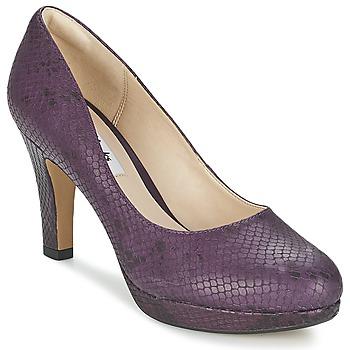 Cipők Női Félcipők Clarks CRISP KENDRA Lila
