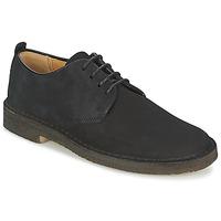 Cipők Férfi Oxford cipők Clarks DESERT LONDON Fekete
