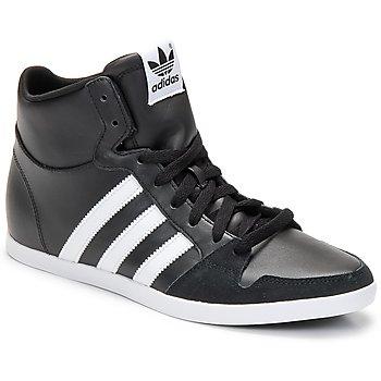 Cipők Férfi Magas szárú edzőcipők adidas Originals ADILAGO MID Fekete  / Fehér