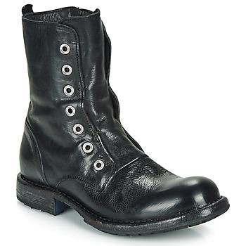 Cipők Női Csizmák Moma CUSNA NERO Fekete