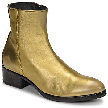 Cipők Női Bokacsizmák Moma NJ ORO Arany