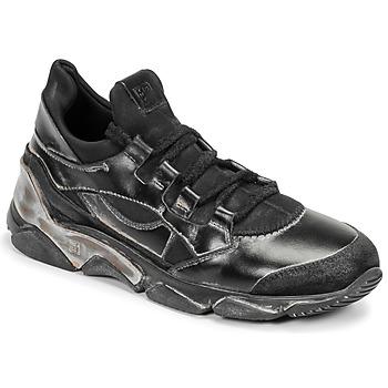 Cipők Női Rövid szárú edzőcipők Moma TONY NERO Fekete