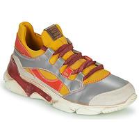 Cipők Női Rövid szárú edzőcipők Moma TONY BIANCO Citromsárga