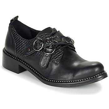 Cipők Női Oxford cipők Regard ROABAX VA MAIA Fekete