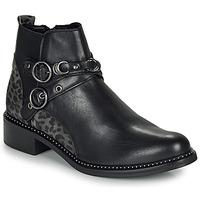 Cipők Női Csizmák Regard ROABIL V2 METALCRIS Fekete