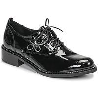 Cipők Női Oxford cipők Regard ROAZU V2 VERNIS Fekete