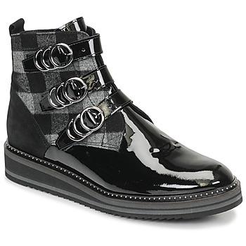 Cipők Női Csizmák Regard ROCPOL V3 VERNIS Fekete