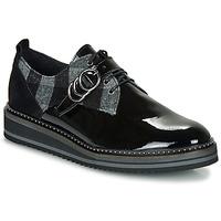 Cipők Női Oxford cipők Regard ROCSI V3 VERNIS Fekete