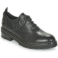 Cipők Női Oxford cipők Philippe Morvan DAILY V1 MAIA Fekete