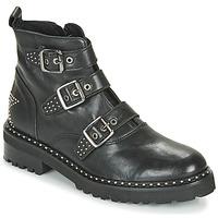 Cipők Női Csizmák Philippe Morvan DRAFT V1 MAIA Fekete