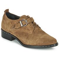 Cipők Női Oxford cipők Philippe Morvan SAND V4 CRTE VEL Teve