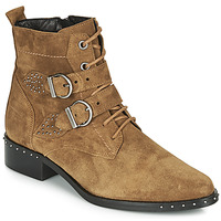 Cipők Női Csizmák Philippe Morvan SWAG V4 CRTE VEL Teve