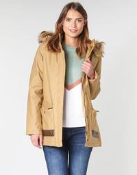 Ruhák Női Parka kabátok Roxy TRAVELLING WEST Barna