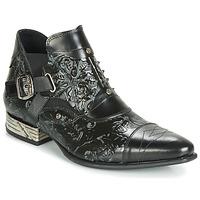 Cipők Férfi Oxford cipők New Rock BRAVA Fekete
