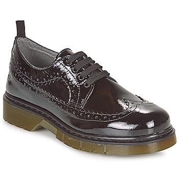Cipők Lány Oxford cipők Citrouille et Compagnie LOUVINO Fekete