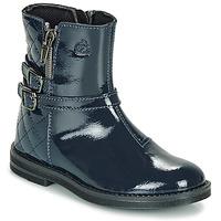 Cipők Lány Csizmák Citrouille et Compagnie LIMIDOU Kék