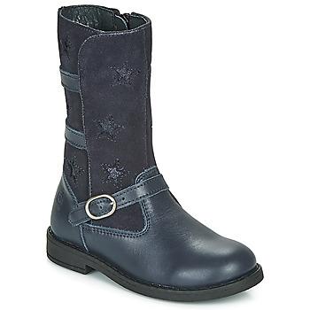 Cipők Lány Városi csizmák Citrouille et Compagnie HANDRE Tengerész