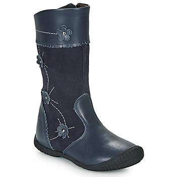 Cipők Lány Városi csizmák Citrouille et Compagnie AMATIS Tengerész